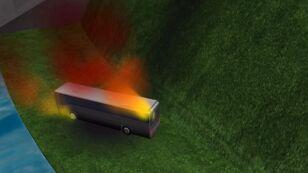 Komputerowa symulacja wypadku pod Grenoble