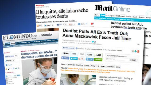 """""""Dentystyczna zemsta Polki"""" podbiła media na świecie"""