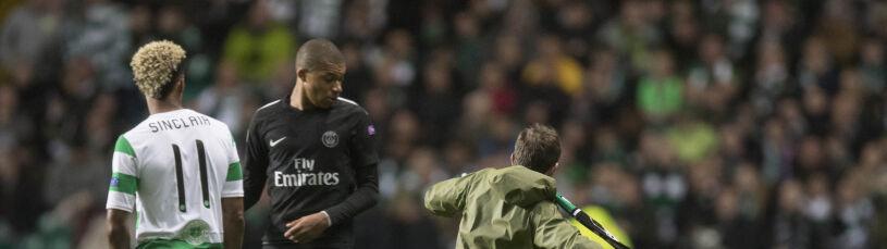 Chciał kopnąć Mbappe. Został aresztowany, UEFA straszy