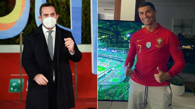 """""""Arogancja, brak szacunku i kłamstwo"""". Minister odpowiada Ronaldo"""