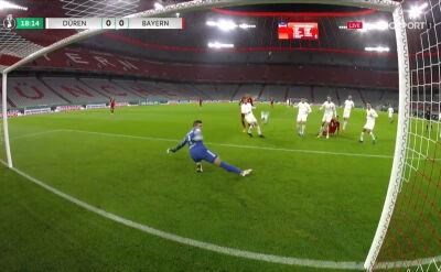 Fantastyczna interwencja bramkarza FC Dueren w starciu z Bayernem