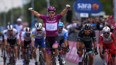 Nie ma mocnych na Demare'a. Francuz z czwartym zwycięstwem w Giro d'Italia