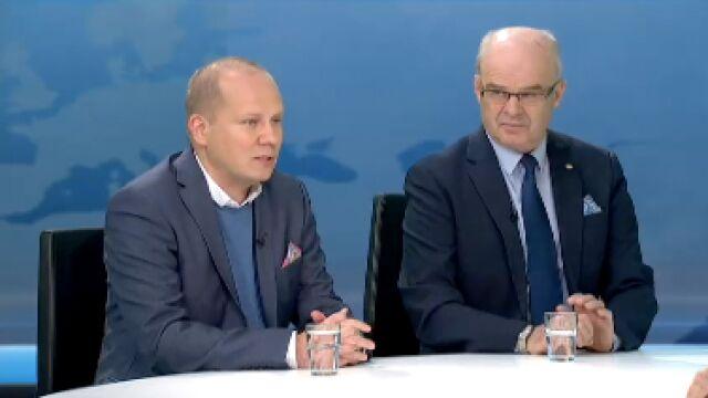Generał Waldemar Skrzypczak i Marek Świerczyński