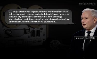 """Taśmy Kaczyńskiego. Fragment 5. """"Przeszkoda to jest kampania o charakterze czysto politycznym"""""""