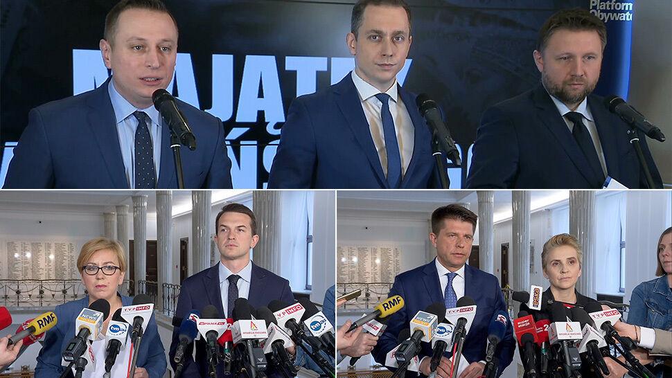 """""""Upada mit uczciwości i skromności"""". Opozycja zawiadamia prokuraturę w sprawie Kaczyńskiego"""