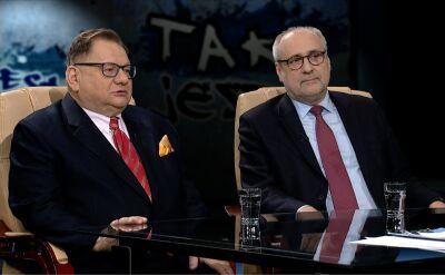 """Ryszard Kalisz i Grzegorz Długi w """"Tak jest"""" w TVN24 o taśmach Kaczyńskiego"""