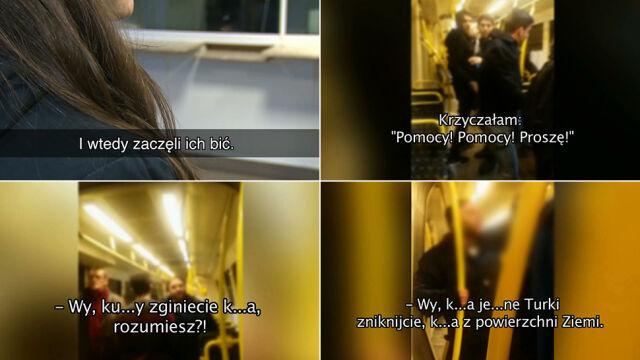 """Rasistowski atak w tramwaju na tureckich studentów. """"Wy k***y zginiecie"""""""""""