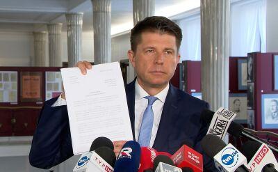 Petru składa zawiadomienie do prokuratury o podejrzeniu popełnienia przestępstwa przez prezesa PiS