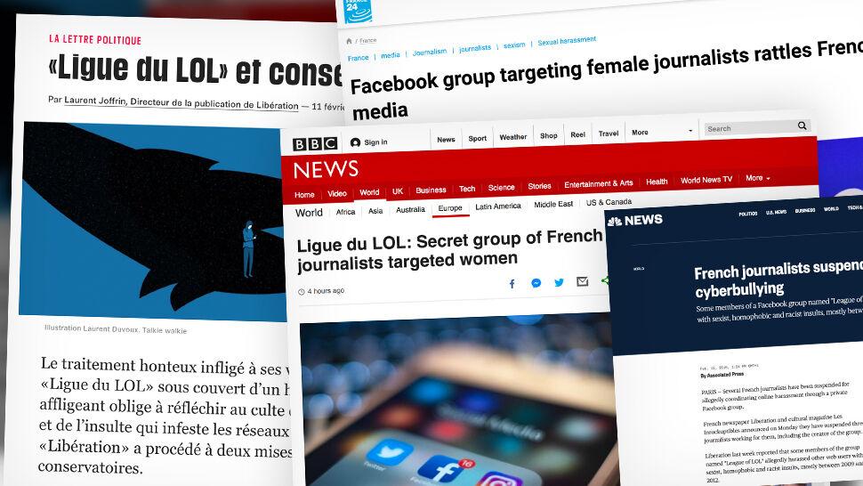 Anonimowa grupa, szydzenie z kobiet i zwolnienia dziennikarzy. Skandal we Francji