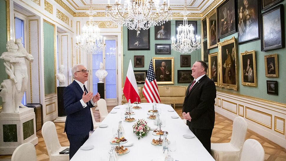 """""""Prezydent Trump jest wdzięczny za to,  że Polska wywiązuje się ze zobowiązań"""""""