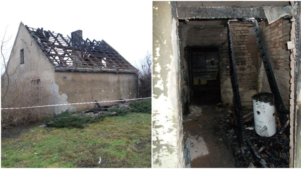 Z okien i dachu buchały języki ognia. W pożarze domu zginęła jedna osoba