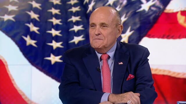 Former Mayor of New York City Rudy Giuliani has been the guest of Piotr Kraśko in TVN24 BIS