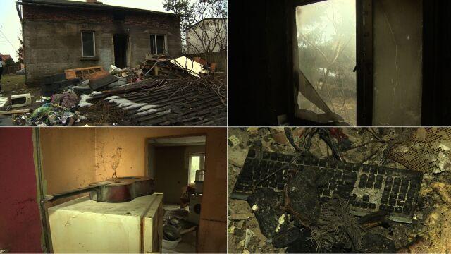 W kwietniu zmarła im mama, w lutym spłonął dom. Pomogła obca kobieta