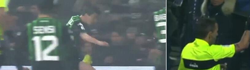 Genialna interwencja Szczęsnego. Wygarnia piłkę, ratuje Juventus