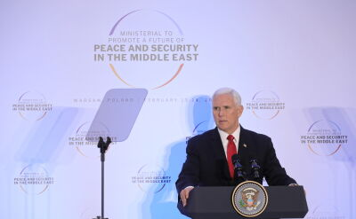 Całe wystąpienie Mike Pence'a drugiego dnia konferencji