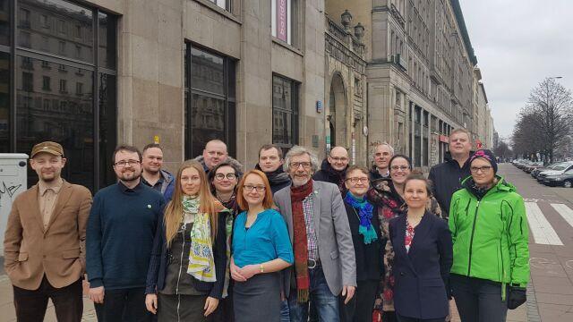 Zieloni dołączyli do Koalicji Europejskiej