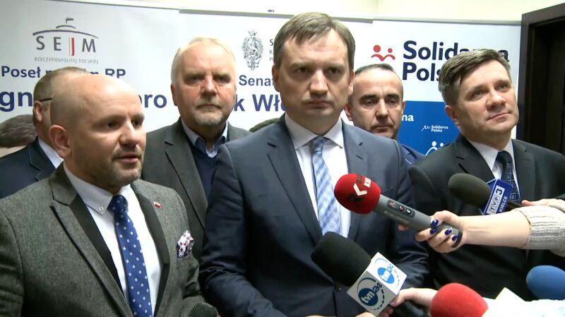 Ziobro o okolicznościach powołania Adama Andruszkiewicza na wiceministra