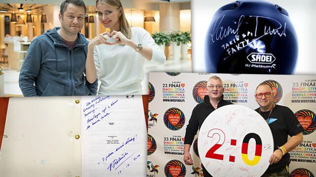 Scenariusz Polańskiego, koszulka Mili, Reksio z brązu. Co ciekawego trafisz na aukcjach WOŚP?