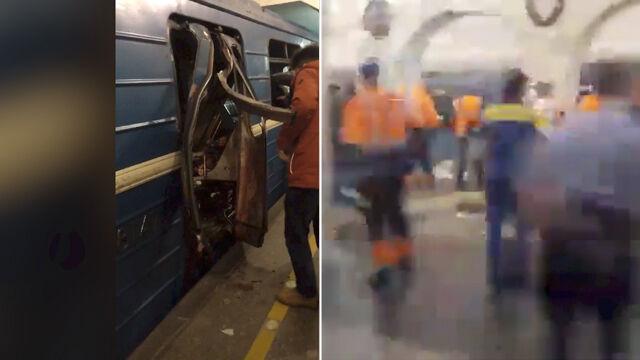 Wybuchy w metrze w Petersburgu. Są zabici i ranni