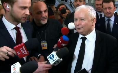 Kaczyński o Schetynie: to nie będzie postać dobrze traktowana przez historyków
