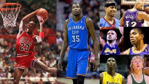 Pół wieku NBA za ich plecami. Jordan, Durant i długo, długo nikt