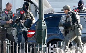 Strzały na przedmieściach Brukseli. Ranny policjant, pościg za napastnikiem