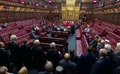 Ceremonia zawieszenia Izby Lordów