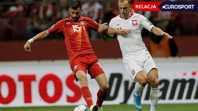 Polacy walczą o upragnionego gola i awans. Szczęście jest na razie z Macedończykami