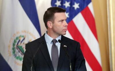 McAleenan podczas spotkania z prezydentem Salwadoru Bukele