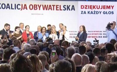 Małgorzata Kidawa-Błońska: ze spokojem poczekamy na wyniki wyborów, wierzę, że będą dobre