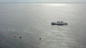 Zderzyli się z patrolem, ich łódź zatonęła.