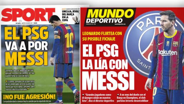 """PSG potwierdza, że """"idzie po Messiego"""""""