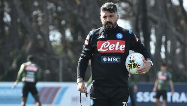 Kontrola na treningu Napoli, Gattuso zirytowany.