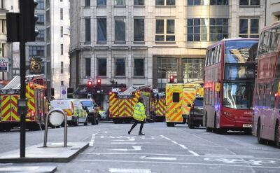 """Policja o """"podłożu terrorystycznym"""" ataku na London Bridge"""