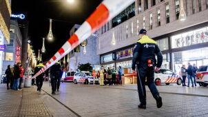 Zaatakował nożem w centrum Hagi. Policja zatrzymała podejrzanego