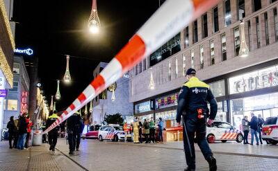 Atak nożownika w centrum Hagi