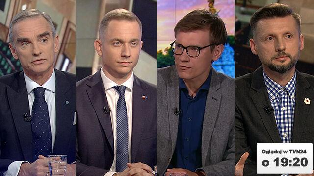 """Jackowski, Tomczyk, Słomka i Pawłowski w """"Faktach po Faktach"""""""