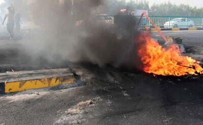 Protesty w Iraku trwają od początku października