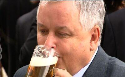 Kaczyński i Klaus na piwie