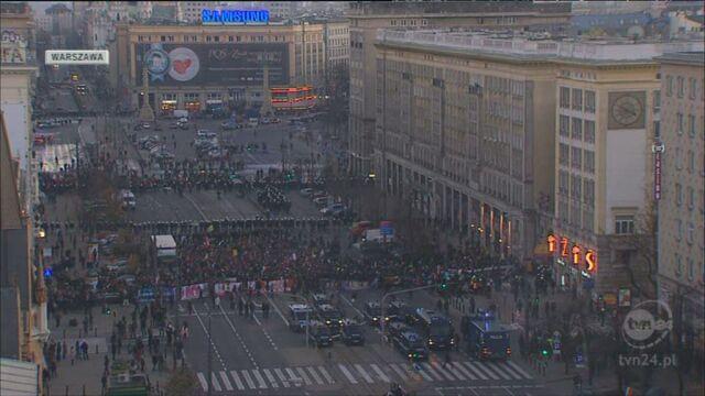 Ewa Gawor: Marsz jest legalny/TVN24