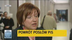 Kempa: To krok ku odzyskaniu wiarygodności w Sejmie