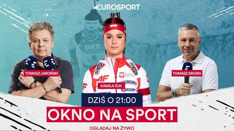"""Eurosport wraca na strzelnicę. Gościem """"Okna na sport"""" biathlonistka Kamila Żuk"""