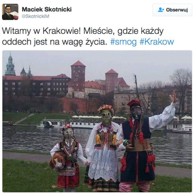Mieszkańcy Krakowa swoje niezadowolenie manifestują m.in. w mediach społecznościowych.