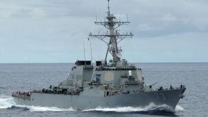 USA wysłały niszczyciel pod chińską
