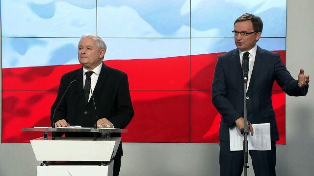 Zbigniew Ziobro: projekt zmierza do tego, by przywracać sprawiedliwość