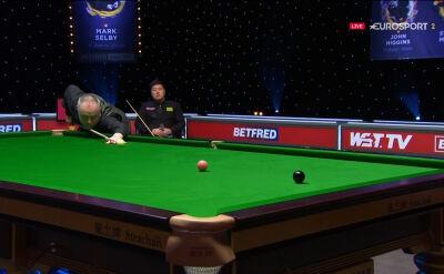 Higgins na prowadzeniu po pierwszej części finału Masters