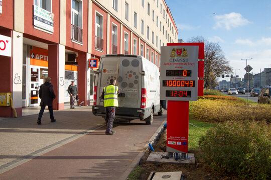 Licznik rowerowy stanął w Gdańsku