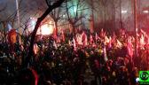 Incydent przed ambasadą Rosji