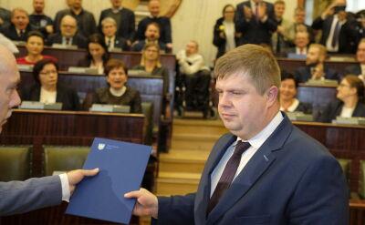 Michał Wójcik o zmianie sytuacji w sejmiku śląskim
