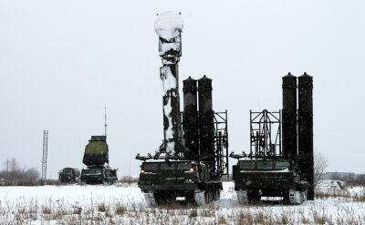 Ćwiczenia rosyjskiej obrony przeciwlotniczej
